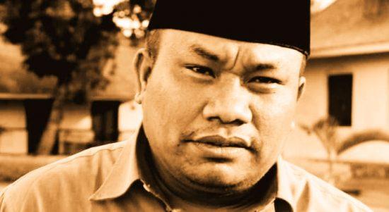 Ketua KPU Halsel Darmin Hi. Hasyim