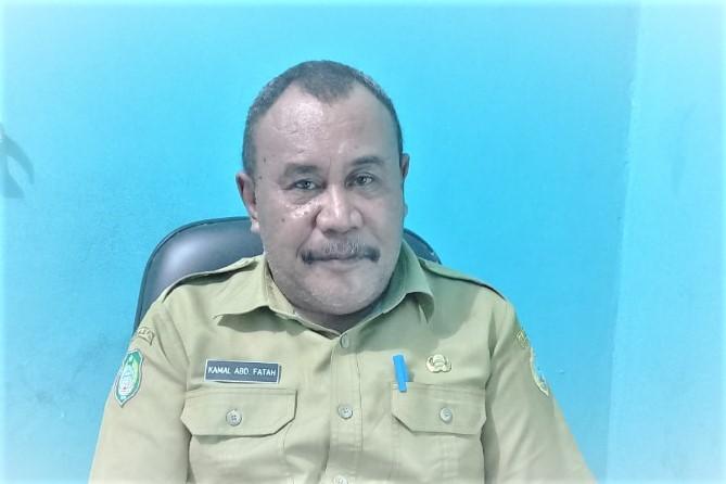 KEPALA Dinas Dukcapil Halteng, Kamal Abd Fatah