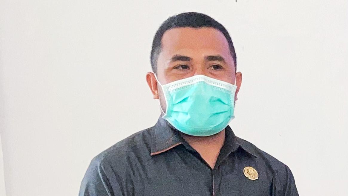 ANGGOTA DPRD Kabupaten Halmahera Timur, Dapil I Maba Utara Bahmid Djafar.
