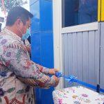 BUPATI Kepulauan Sula, Hendrata Thes meresmikan terminal Sanana, Sabtu (10/4/2021)