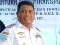 KEPALA Dinas Perhubungan Kepulauan Sula, Ibrahim Tidore