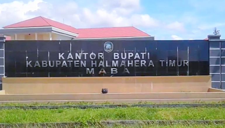 KANTOR Bupati Kabupaten Halmahera Timur