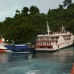 KAPAL KM Karya Indah diduga hilang kendali hingga masuk hutang mangrove. Peristiwa ini terjadi tahun 2017 lalu
