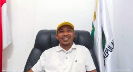 KEPALA Diknas Kepsul, Rifai Haitami, saat diwawancarai habartimur.com Jumat (18/6/2021).