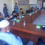 SUASANA RDP MPRS dengan pimpinan DPRD Kepsul, Selasa (3/8/2021)