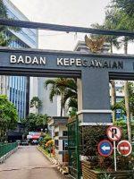 KANTOR pusat BKN di Jakarta
